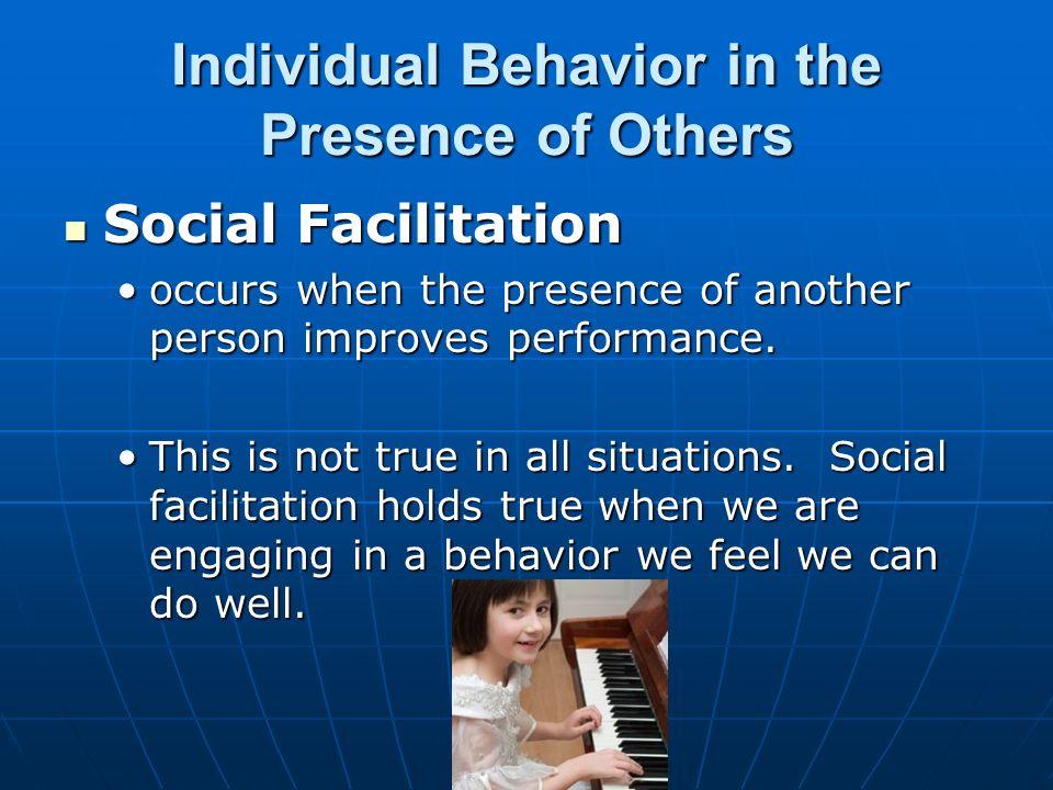 social psych social facilitation