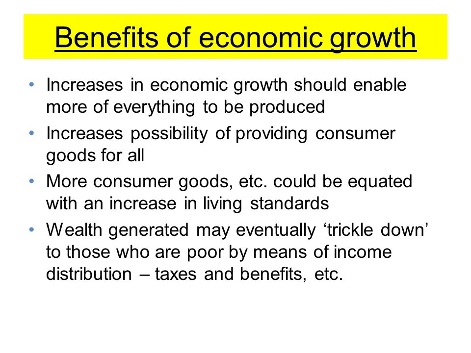 Economic Growth: Causes, Benefits, and Current Limits