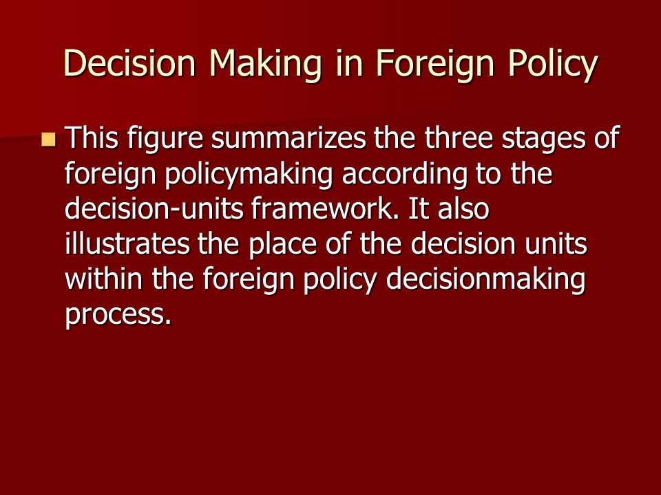 the policy making decision Learn the 6 steps of policy making are with free interactive flashcards choose from 500 different sets of the 6 steps of policy making are flashcards on quizlet.