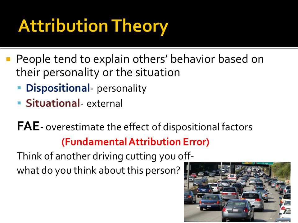 describe dispositional and situational factors in Start studying situational and dispositional factors learn vocabulary, terms, and more with flashcards, games, and other study tools.