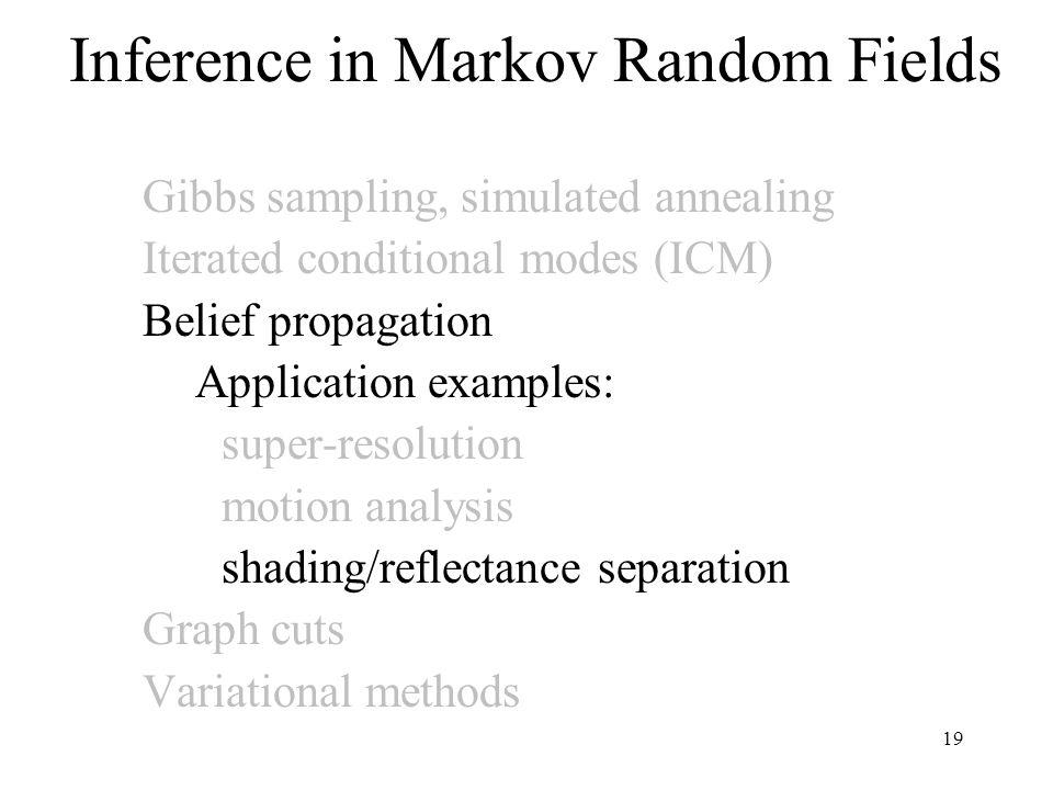 Inference in Markov Random Fields