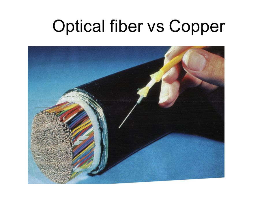 Optical fiber vs Copper