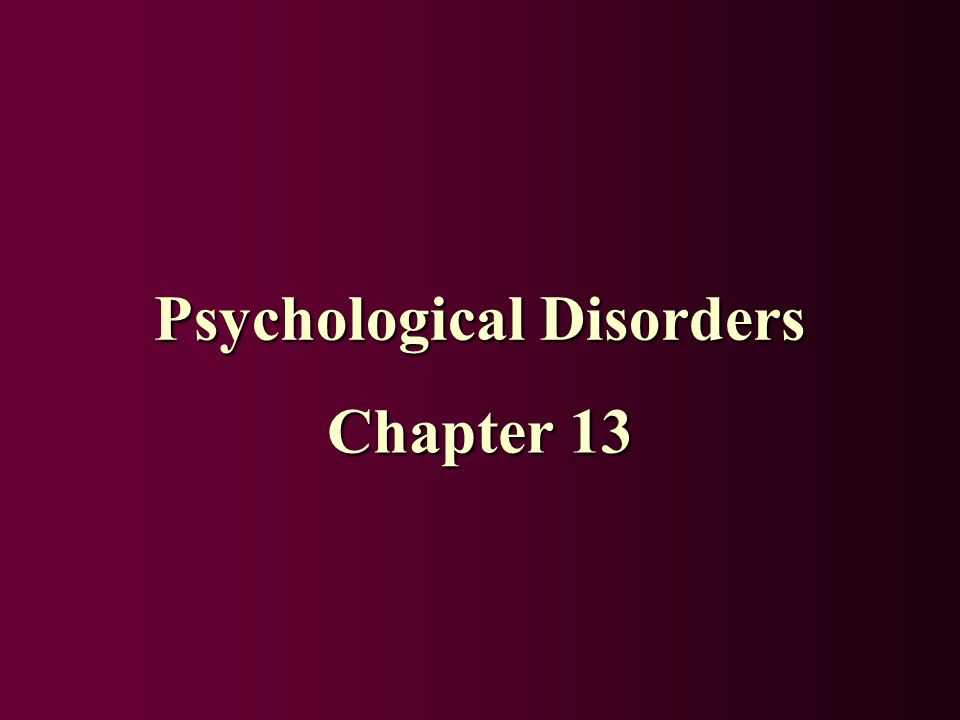 psychological disorders Types of psychological disorders including less common types and symptoms and diagnosis of the correct subtype.