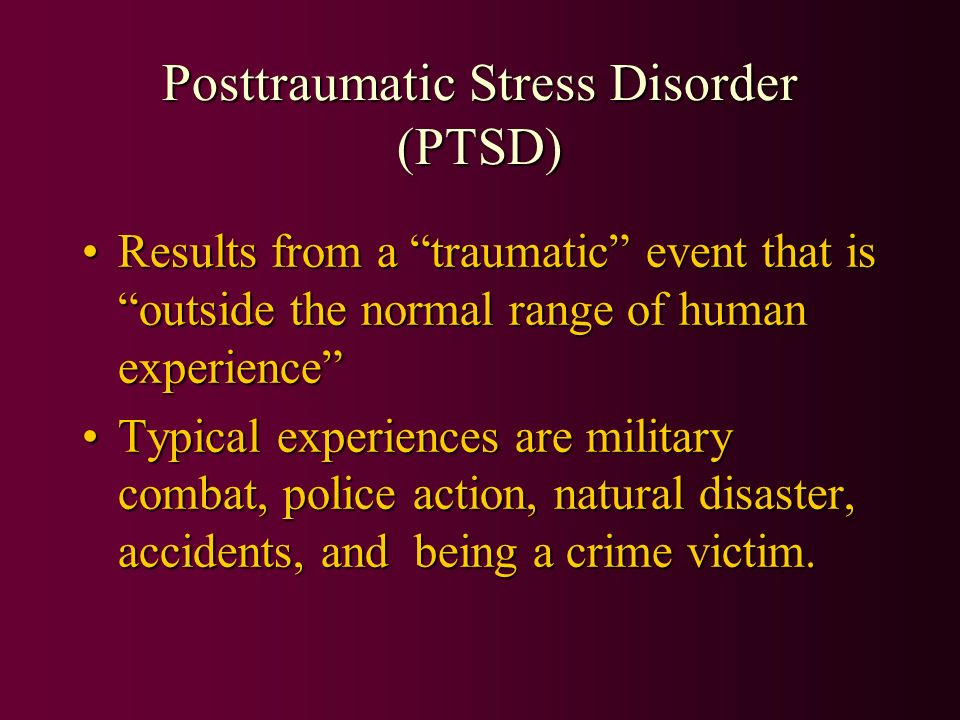 natural disasters acute stress disorder and posttraumatic stress disorder essay