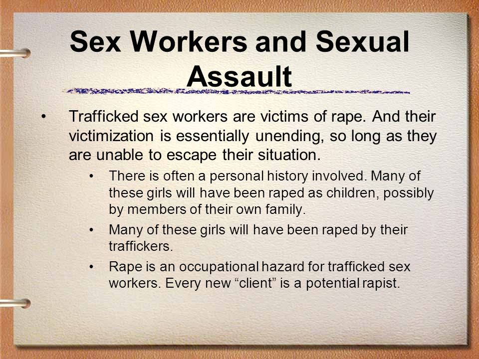 Sex Workers and Sexual Assault