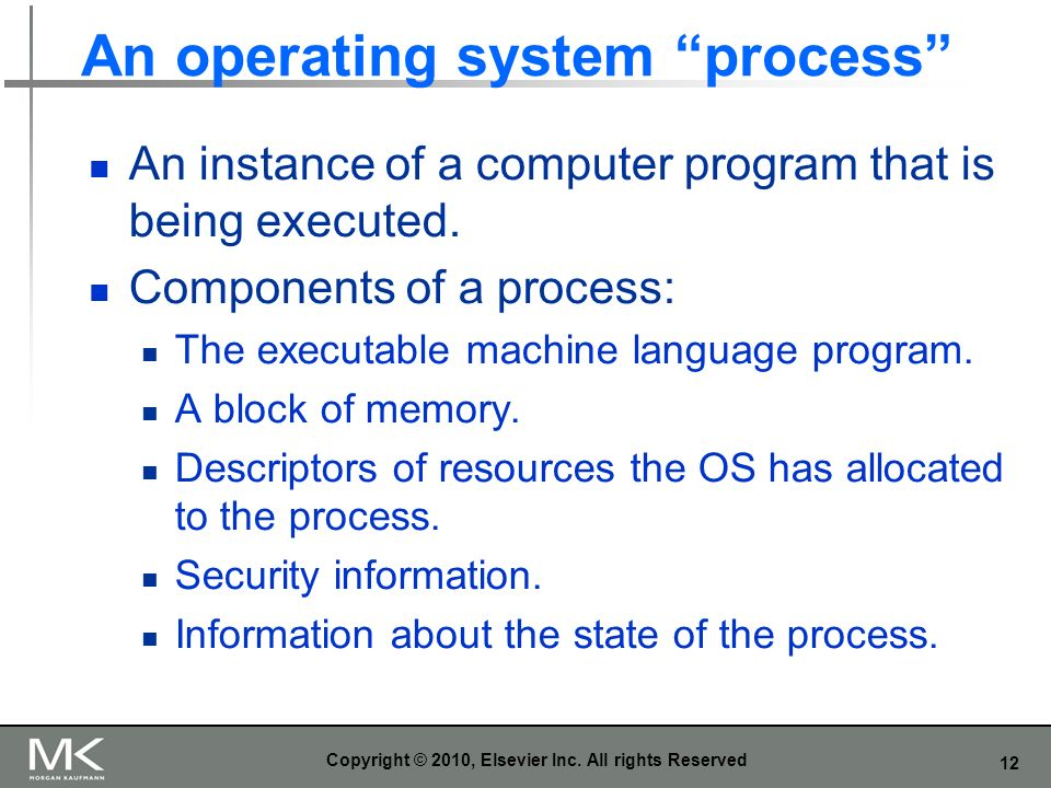 An operating system process