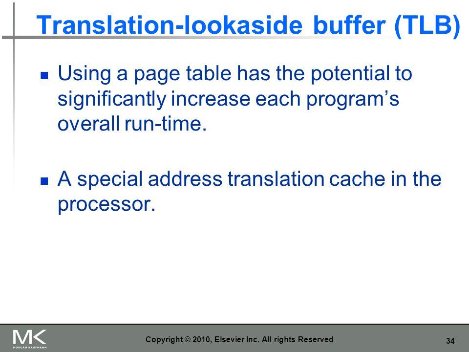 Translation-lookaside buffer (TLB)