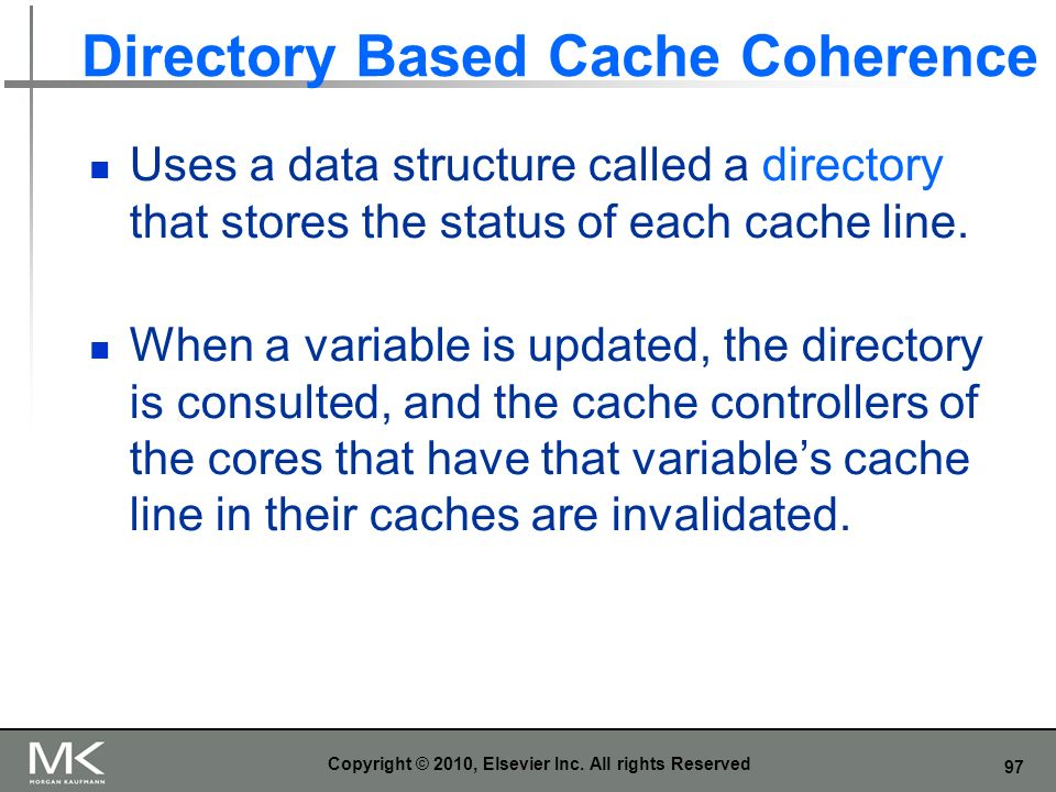 Directory Based Cache Coherence
