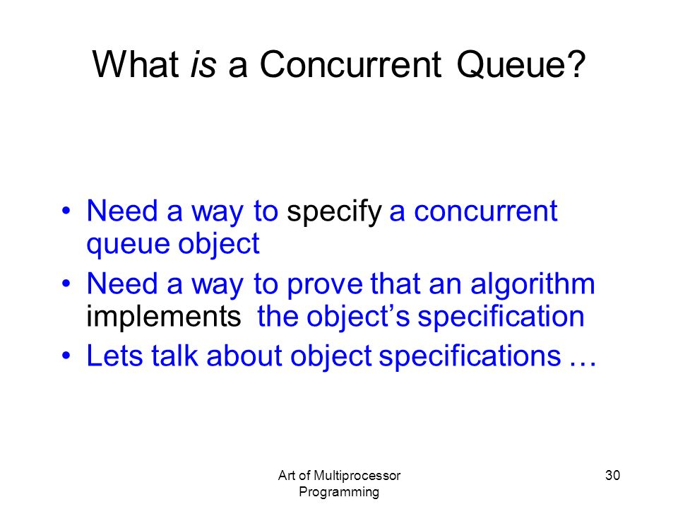 What is a Concurrent Queue