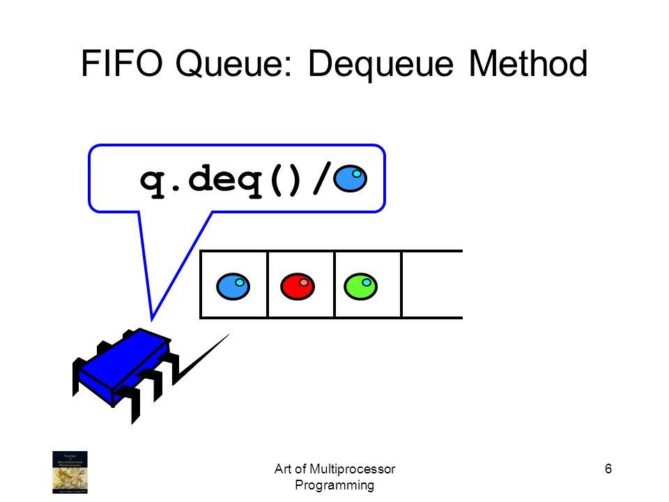 FIFO Queue: Dequeue Method