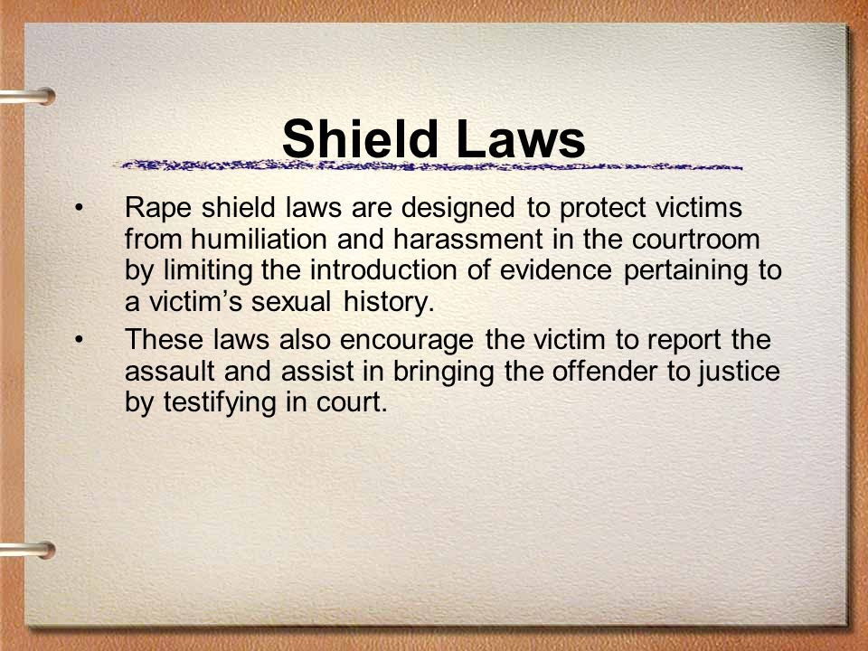 Shield Laws