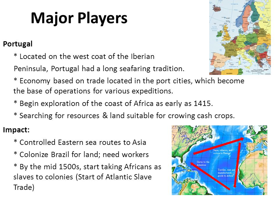 the major impact of slavery on the transformation of the west According to paul e lovejoy, the advent of the trans-atlantic slave trade  of  african history, and a significant factor in the 'transforming of african  on the  political economics of the polities of west africa.
