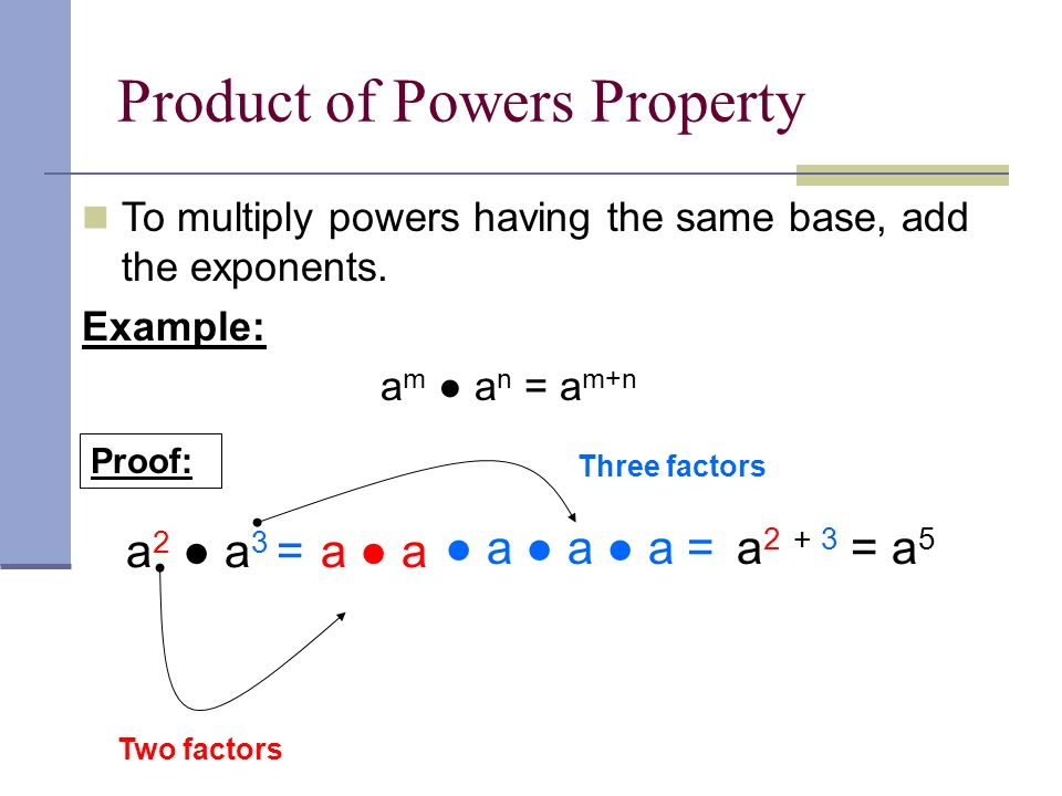 Ch 81 Multiplication Property of Exponents ppt download – Multiplying Powers with the Same Base Worksheet
