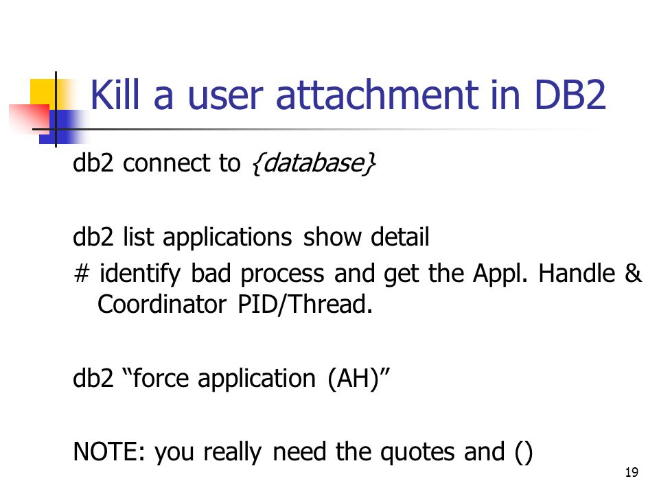 Unix DBA Cross Training - ppt download