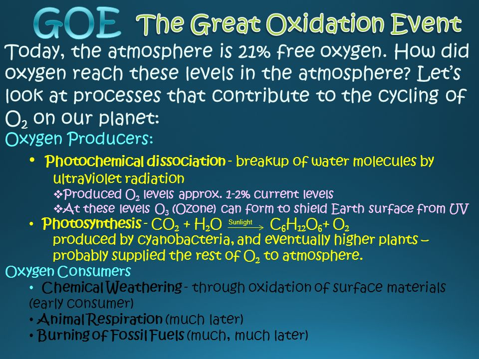 great oxidation event