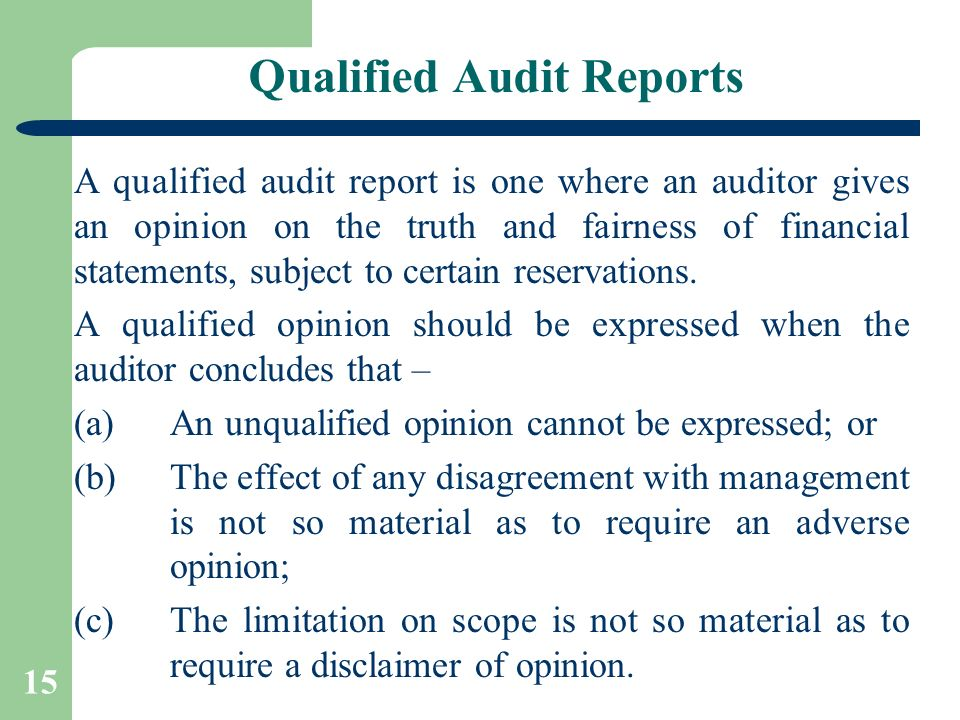 Audit Reports By: Ca. Pankaj Garg. - Ppt Video Online Download