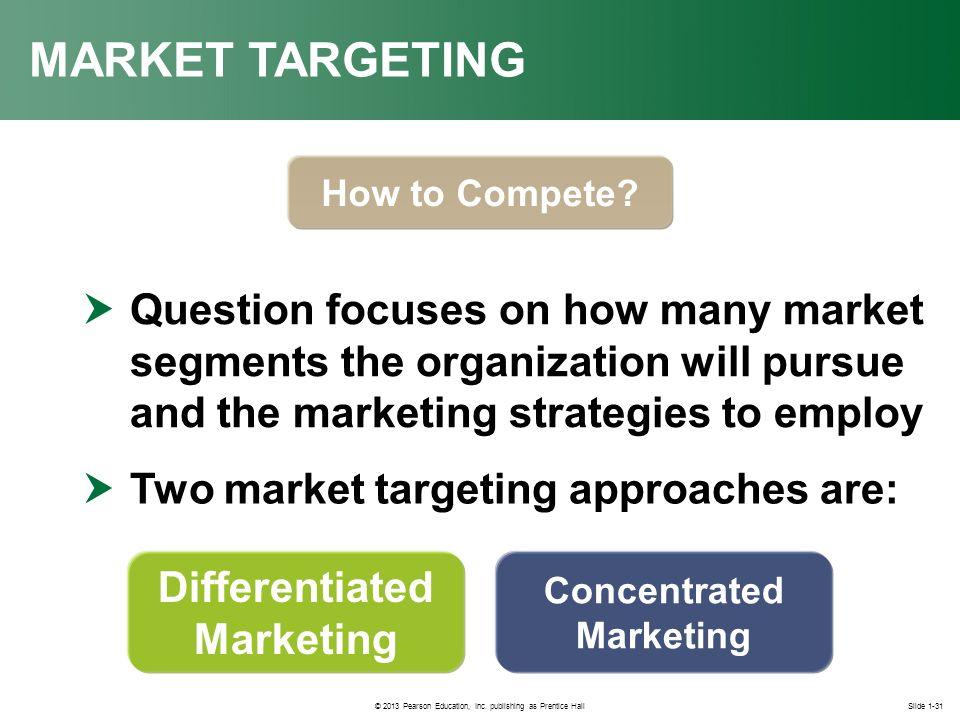 Opportunity Analysis, Market Segmentation, and Market ...