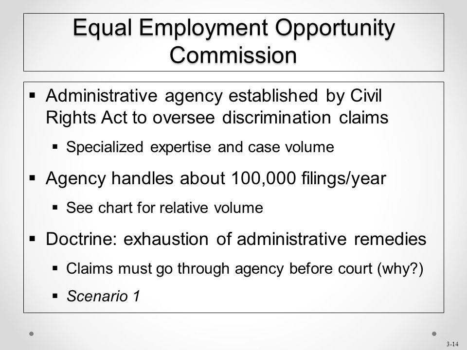 discrimination and employment opportunity commission Employment discrimination causes or may cause discrimination in providing services under such programs eeoc us equal employment opportunity commission.