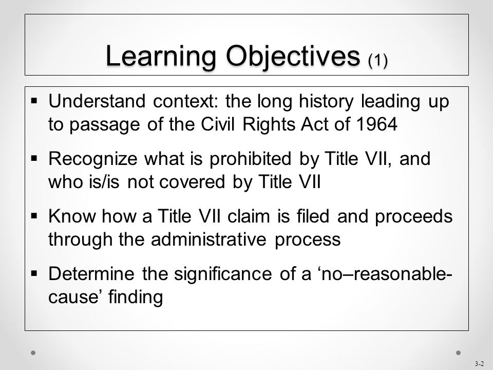an interpretation of the american civil rights act of 1964 Know your rights: title vii of the civil rights act of 1964 articles the untold story behind the civil rights act honoring the women of the civil rights movement we [.