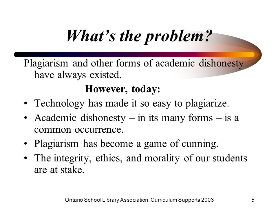 the moral and ethical implication of plagiarism This paper considers the problem of plagiarism as an issue of morality outrage about student plagiarism in universities positions it as dishonesty and a transgression of standards despite this, there has been little work analysing the implications of positioning plagiarism as a moral matter in the.