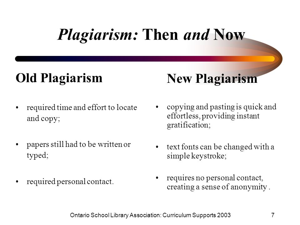 plagiarism and research papers