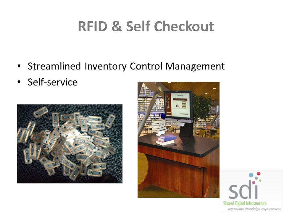RFID & Self Checkout Streamlined Inventory Control Management