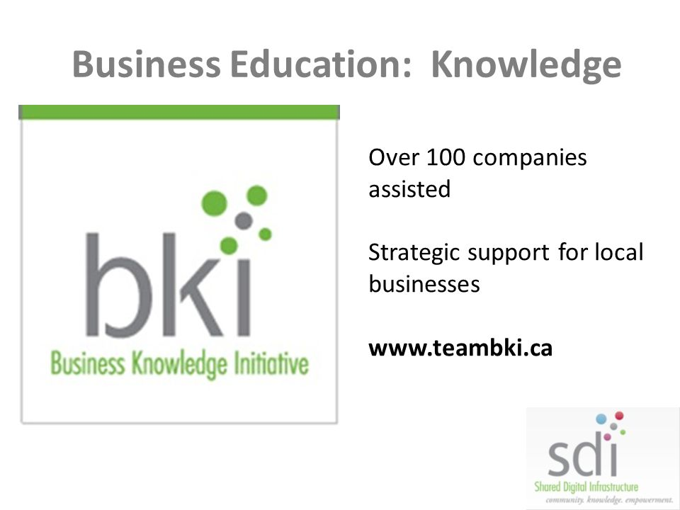 Business Education: Knowledge