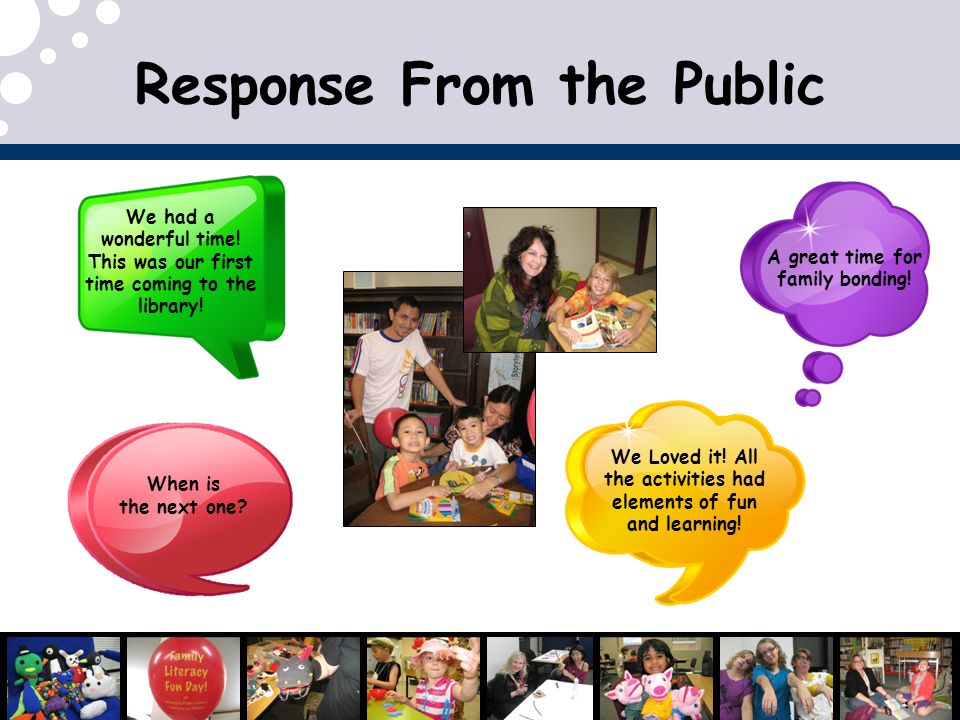 Response From the Public