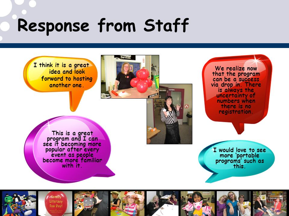 Response from Staff I think it is a great idea and look forward to hosting another one.