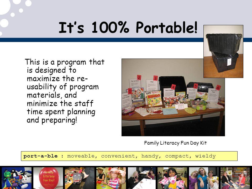 Family Literacy Fun Day Kit