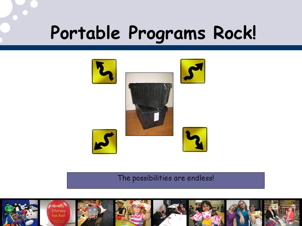 Portable Programs Rock!