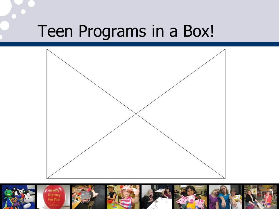 Teen Programs in a Box!