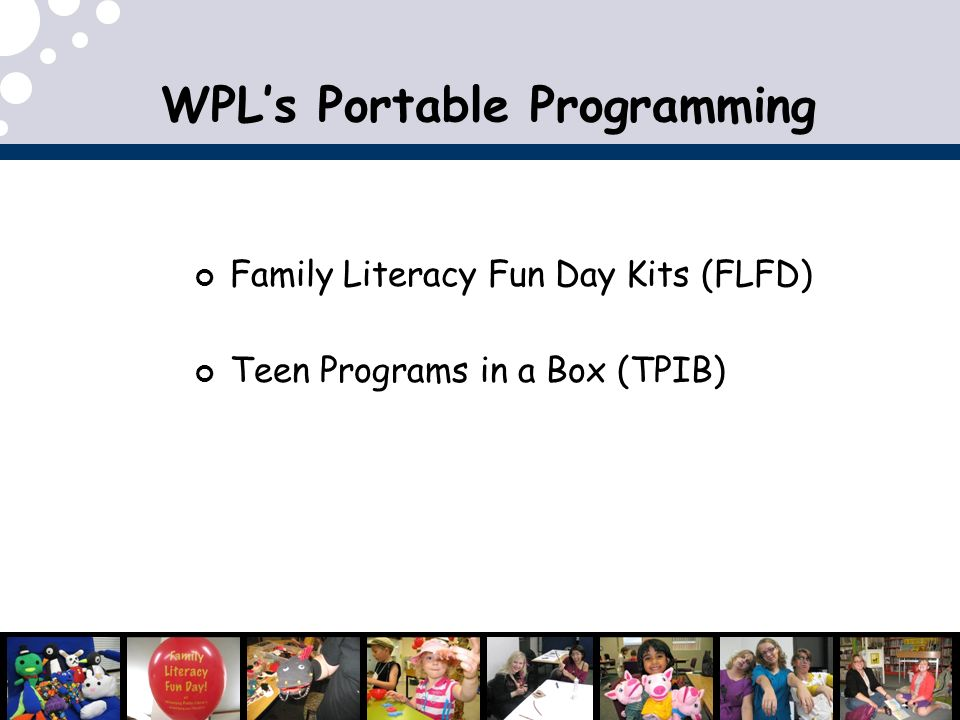 WPL's Portable Programming