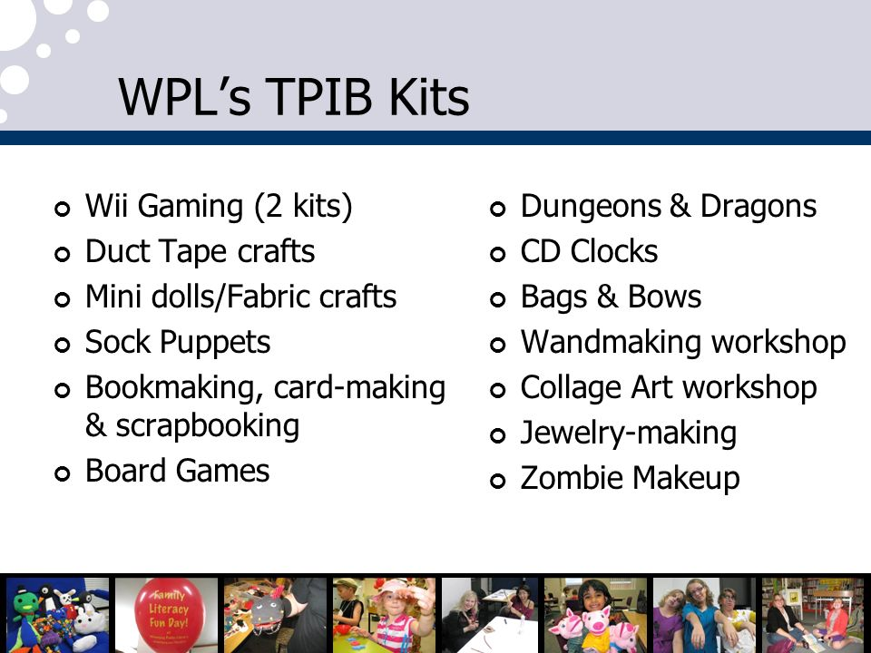 WPL's TPIB Kits Wii Gaming (2 kits) Duct Tape crafts