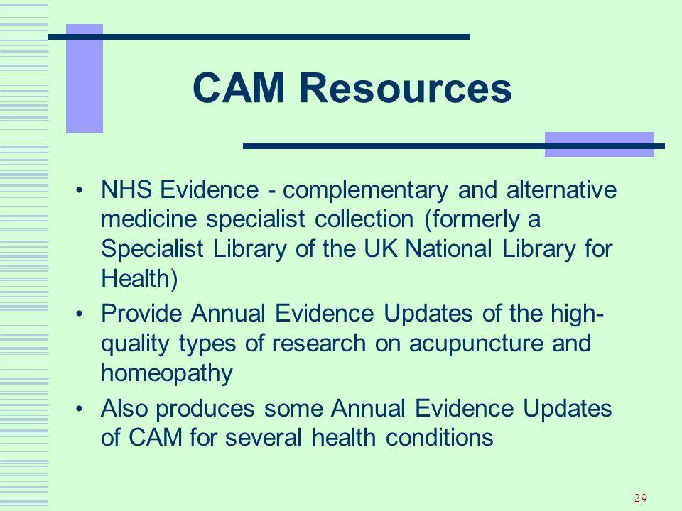 CAM Resources