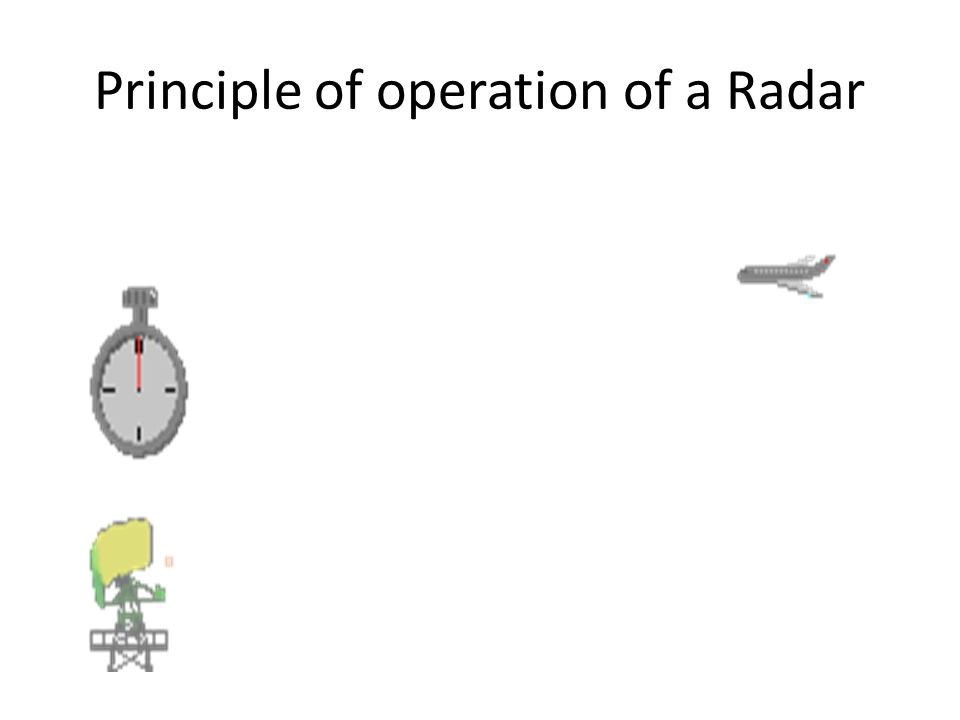 an introduction to the principles of radar 1 basic radar principles 11 introduction the word radar is an acronym derived from the words radio detection and rangingin the united kingdom it was initially referred to as radio direction.