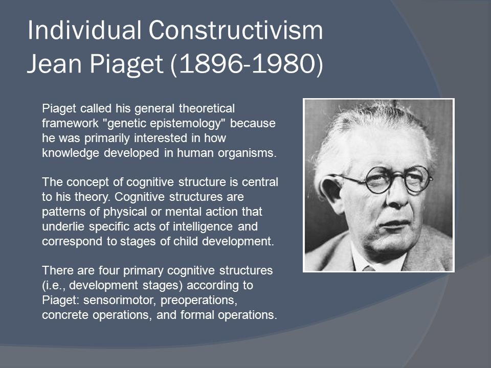 constructivism and vygotsky Constructivism is basically a theory -- based on observation and scientific study -- about how people learn it says that people construct their own understanding and.