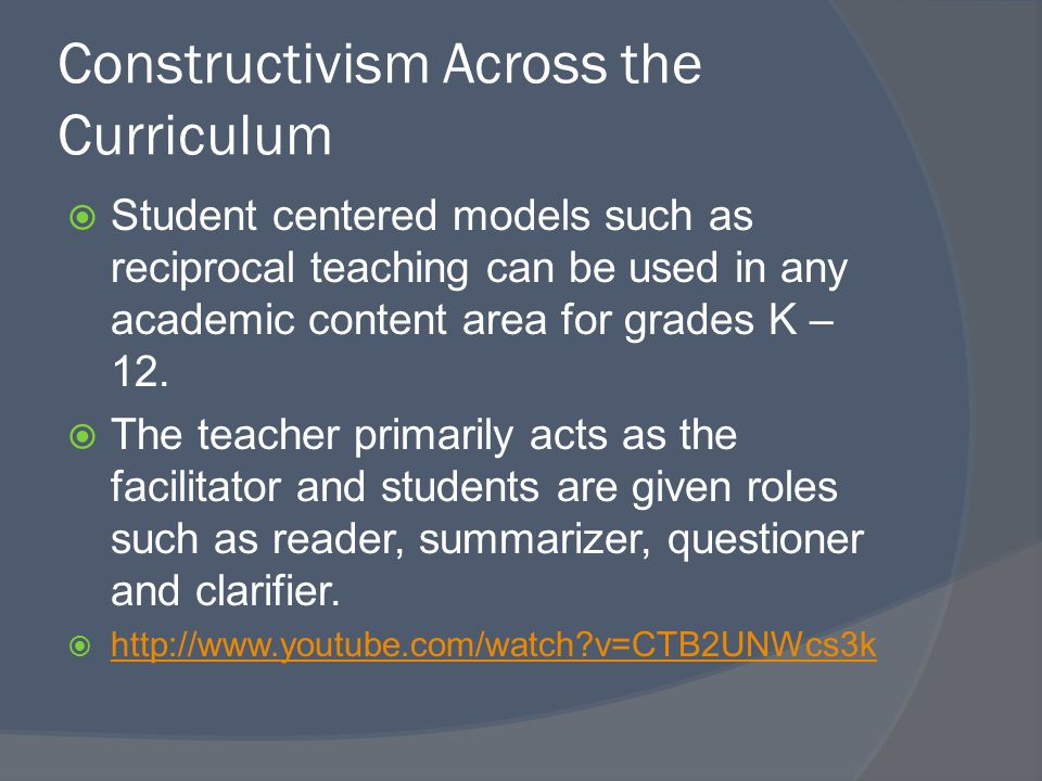 Innovative Classroom Practices In The Light Of Constructivism In ~ Constructivism youtube elizabeth herrity pamela lockhart