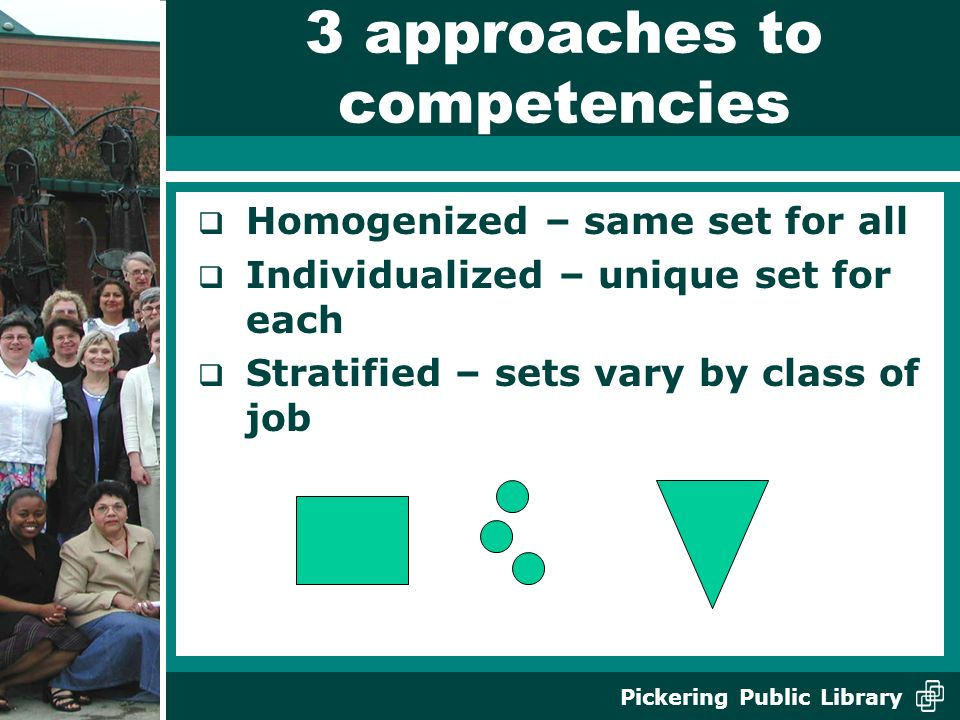 3 approaches to competencies