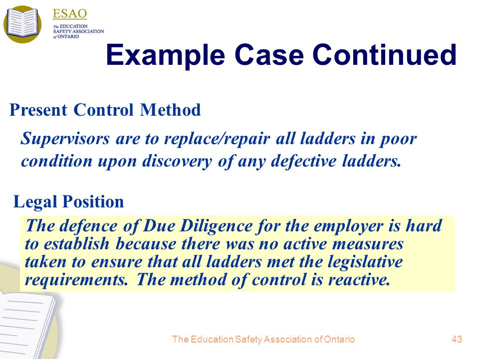 Example Case Continued