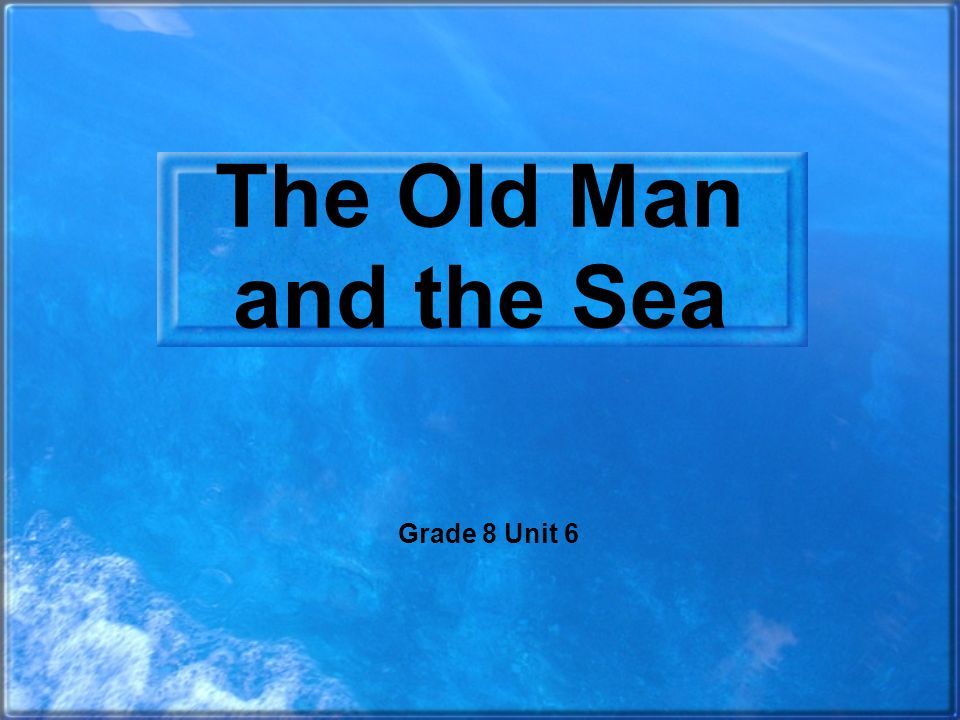 literary analysis of the novel the old man and the sea by ernest hemingway Ernest hemingway is easily known as a the man is still known as one of the great authors of the 20th century and contributed a you cannot deny the impact that ernest hemingway has had on american literature since his first book was published previous article soldier's home by ernest.