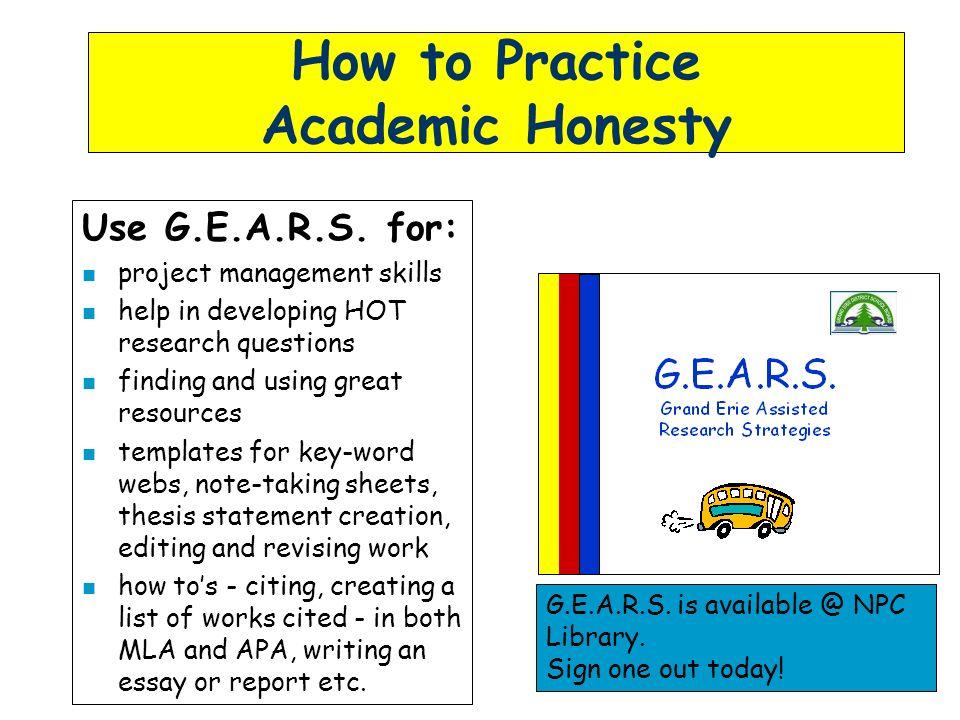 Essays About Academic Dishonesty