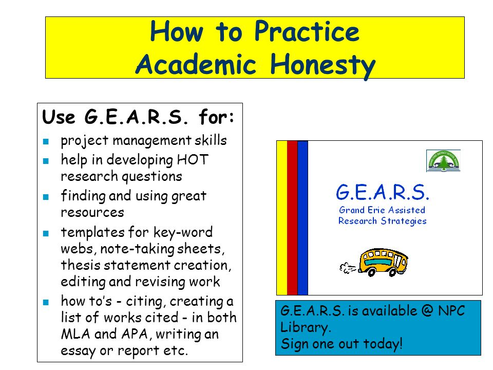 academic honesty through the ppt  how to practice academic honesty