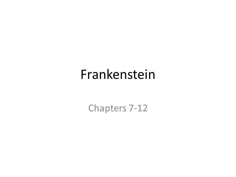 frankenstein chapter 7