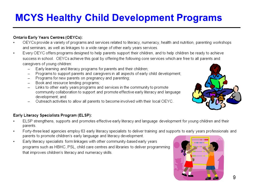 Healthy Child Development and the Early Years - ppt download