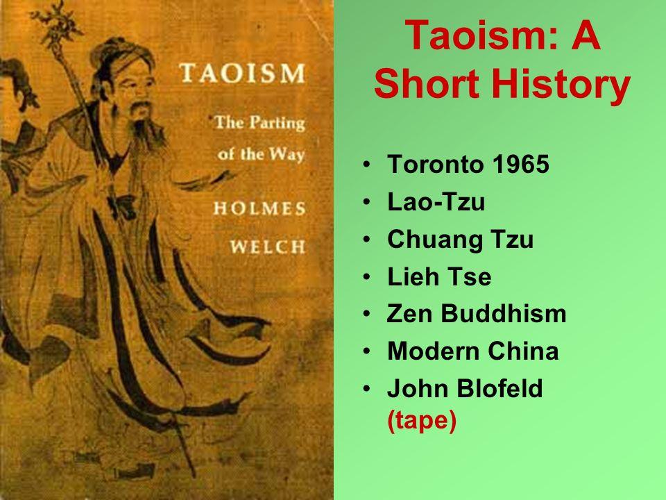 Taoism: A Short History