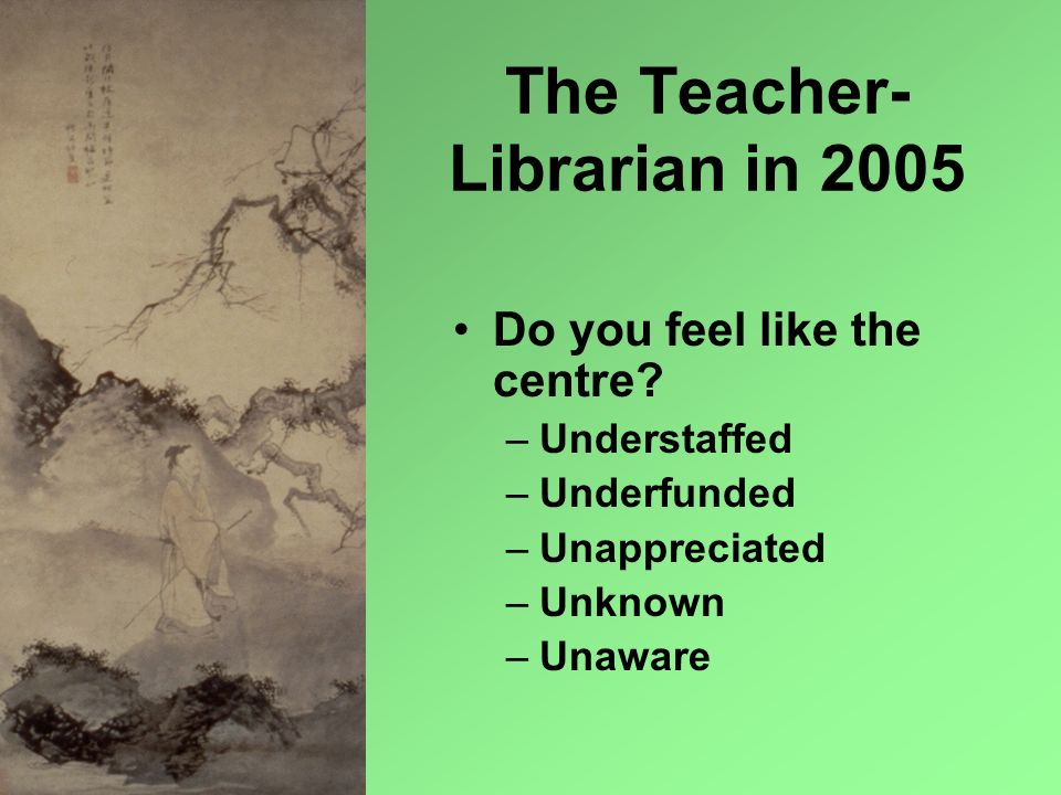 The Teacher-Librarian in 2005