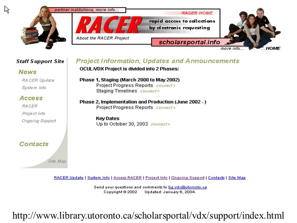 http://www. library. utoronto. ca/scholarsportal/vdx/support/index