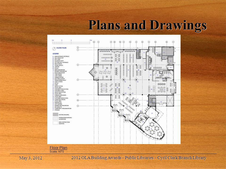 Plans and Drawings Floor Plan. Scale: NTS. May 3, 2012.