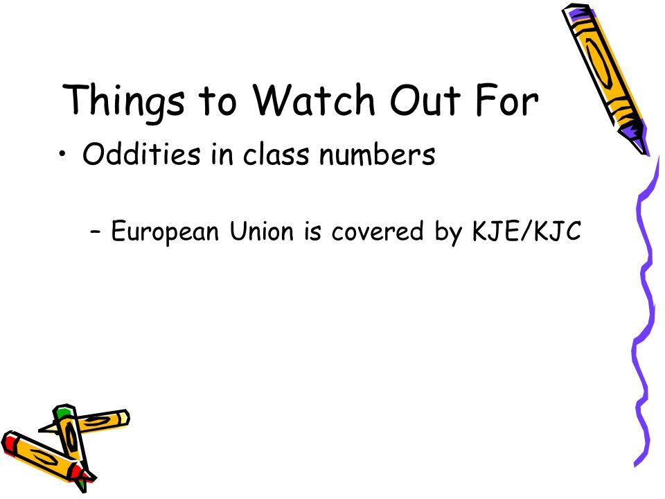 Things to Watch Out For Oddities in class numbers